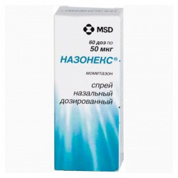 Назонекс, спрей наз. дозир. 50 мкг/доза 120 доз 18 г №1