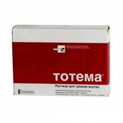 Тотема по цене от 450,40 рублей, купить в аптеках Омска, р-р д/приема внутрь 10 мл №20 ампулы Железа глюконат+Марганца глюконат+Меди глюконат