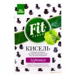 Кисель, Фит Парад 30 г витаминизированный черника без сахара