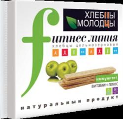 Хлебцы, Хлебцы-молодцы 100 г Фитнес линия витамин плюс