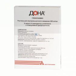 Дона, р-р для в/м введ. 200 мг/мл 2 мл №6 ампулы