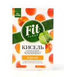 Кисель, Фит Парад 30 г витаминизированный персик без сахара